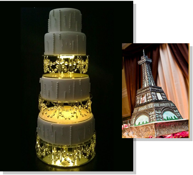 Structural Wedding Cakes